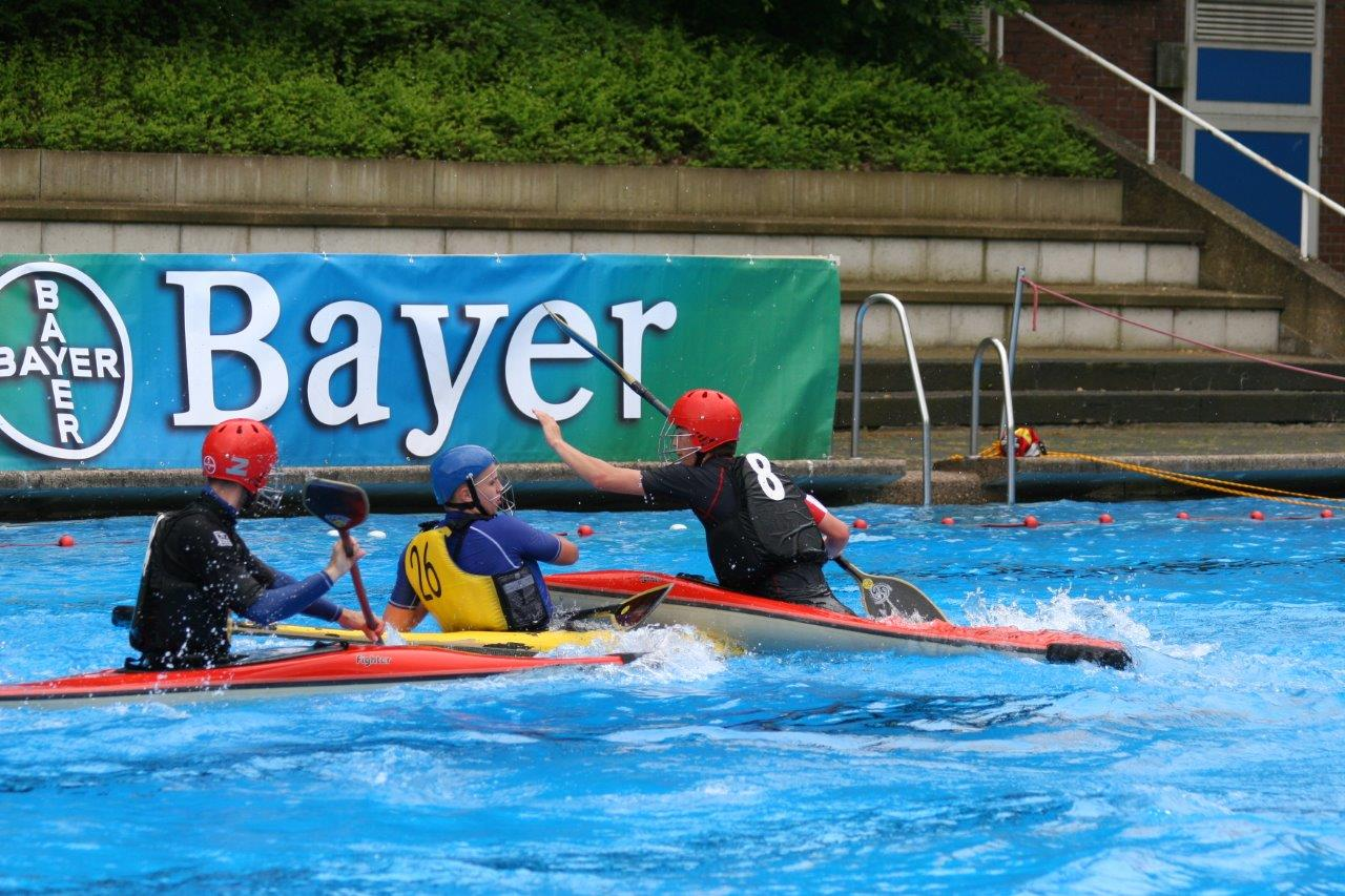 1. Bayer Kanupolo-Cup 08 - So. Helmut Dreyer (154)